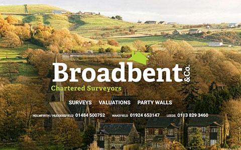 Broadbent Surveyors bespoke responsive WordPress website