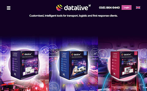Datalive responsive WordPress 5 site with Advanced Custom Fields Gutenberg Blocks