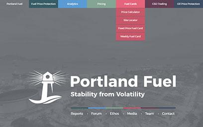 Portland Fuel custom responsive WordPress multisite